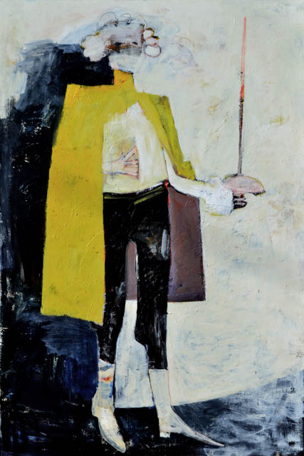 Yellow Cape - 60x40